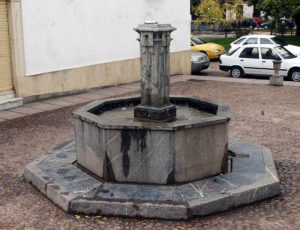 Fuente en la antigua Puerta de Andújar
