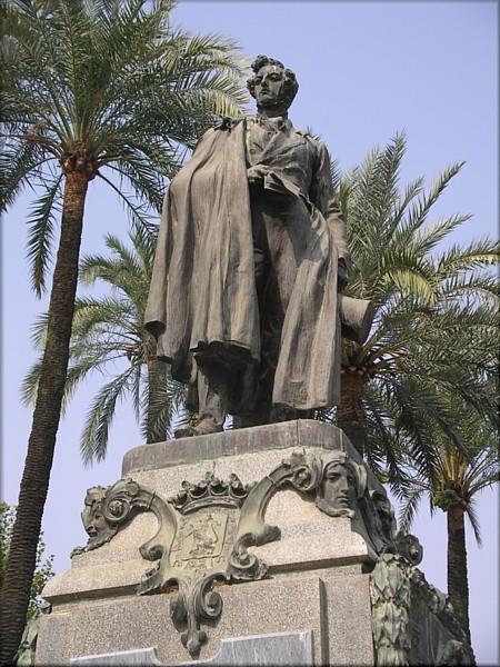 Escultura del Duque de Rivas